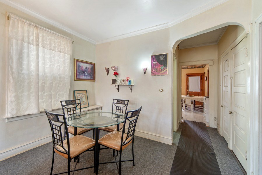 Real Estate Photography - 1831 W Berwyn, Chicago, IL, 60640 - Dining Room