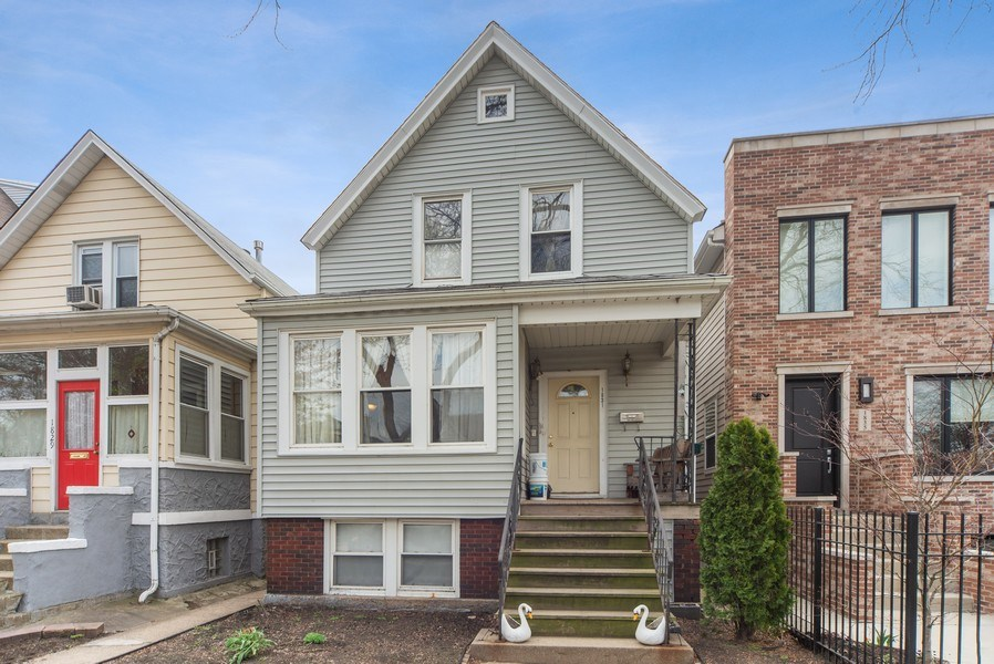 Real Estate Photography - 1831 W Berwyn, Chicago, IL, 60640 - Front View