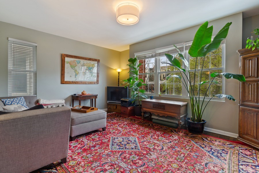 Real Estate Photography - 1217 N Honore, Chicago, IL, 60622 - Living Room