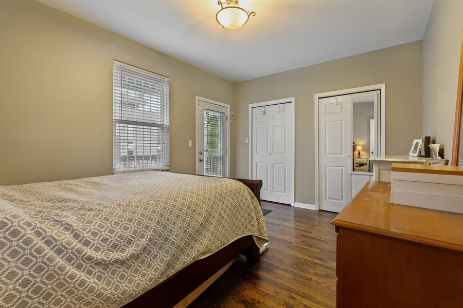 Real Estate Photography - 1217 N Honore, Chicago, IL, 60622 - Bedroom