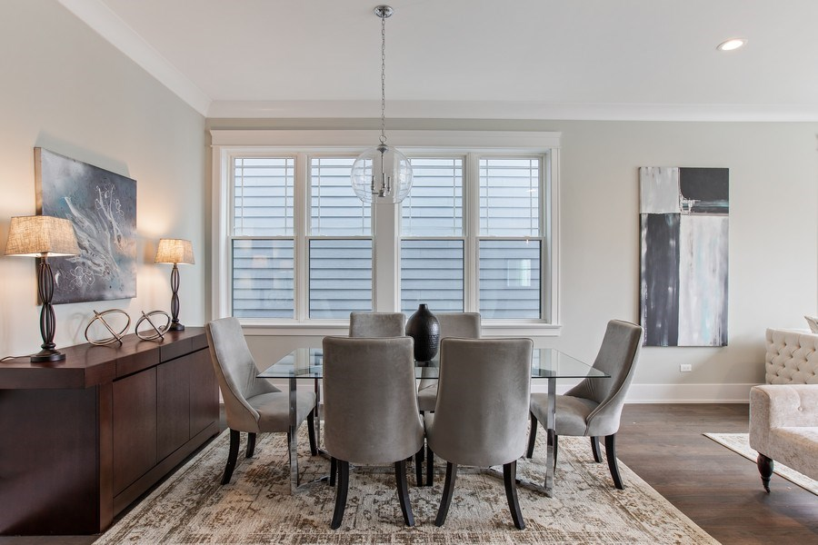 Real Estate Photography - 1700 W Thorndale, Chicago, IL, 60640 - Dining Room
