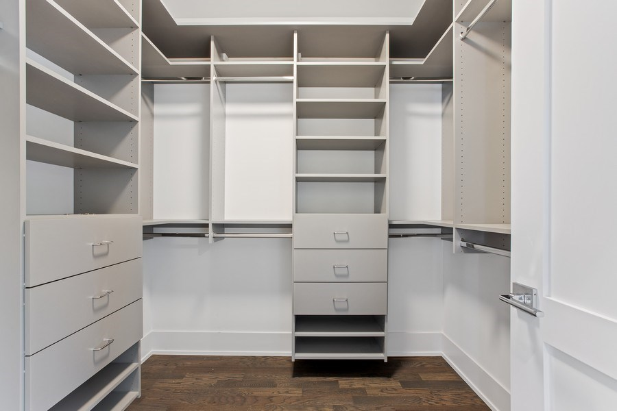 Real Estate Photography - 1700 W Thorndale, Chicago, IL, 60640 - Master Bedroom Closet