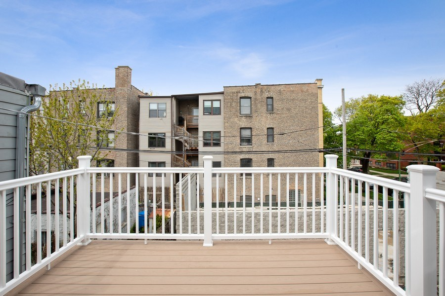 Real Estate Photography - 1700 W Thorndale, Chicago, IL, 60640 - Balcony