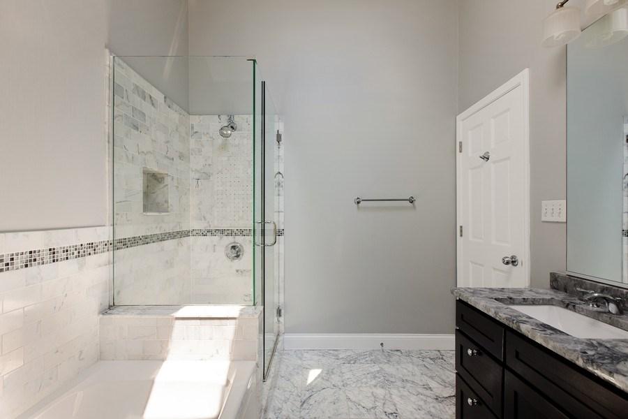 Real Estate Photography - 3034 N Leavitt St, Chicago, IL, 60618 - Master Bathroom