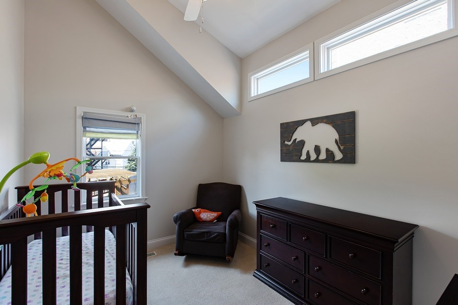Real Estate Photography - 3034 N Leavitt St, Chicago, IL, 60618 - 3rd Bedroom