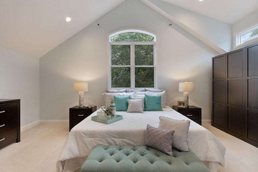 Real Estate Photography - 3034 N Leavitt St, Chicago, IL, 60618 - Master Bedroom