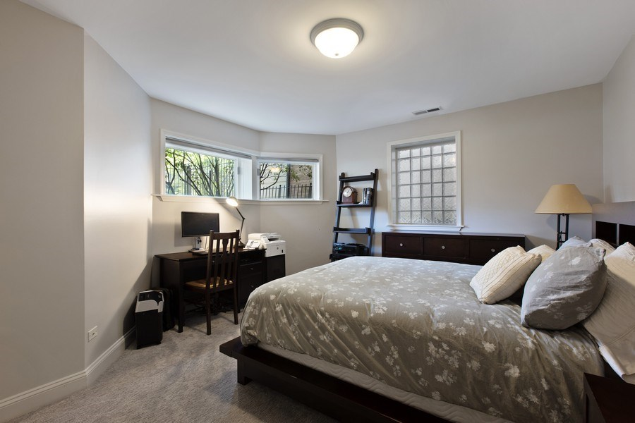 Real Estate Photography - 3034 N Leavitt St, Chicago, IL, 60618 - Bedroom