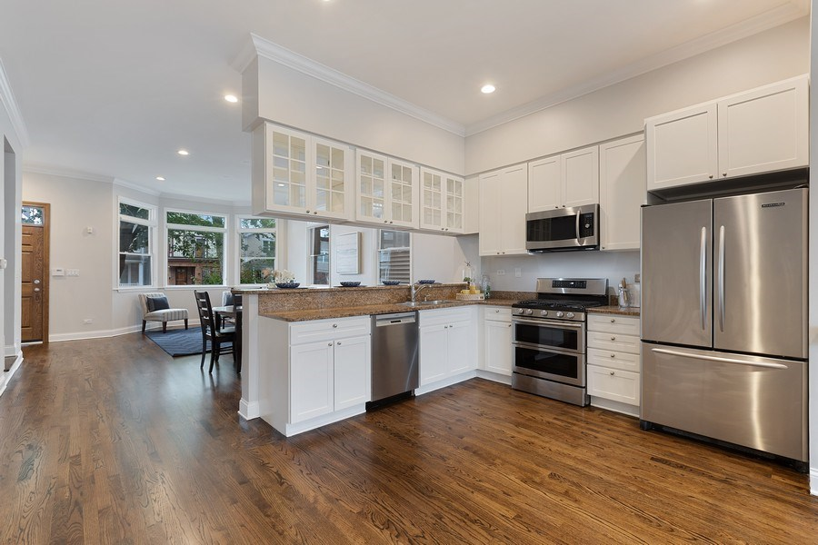 Real Estate Photography - 3034 N Leavitt St, Chicago, IL, 60618 -