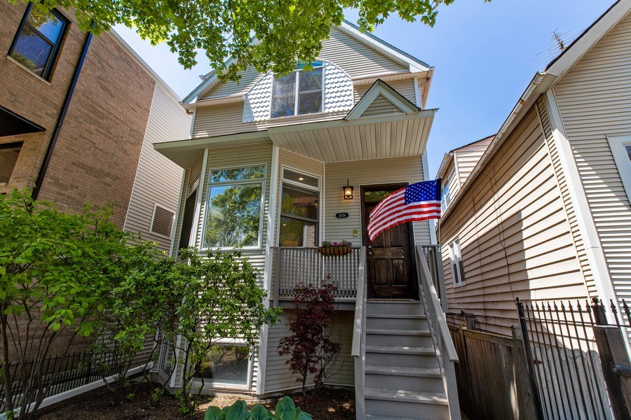 Real Estate Photography - 3034 N Leavitt St, Chicago, IL, 60618 - Front View