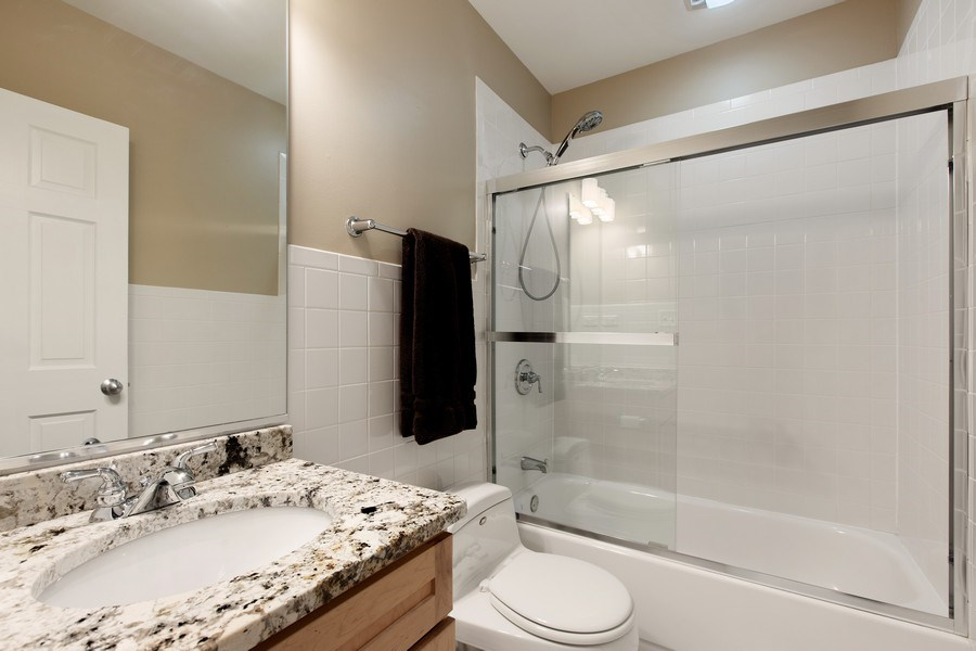 Real Estate Photography - 3034 N Leavitt St, Chicago, IL, 60618 - 2nd Bathroom