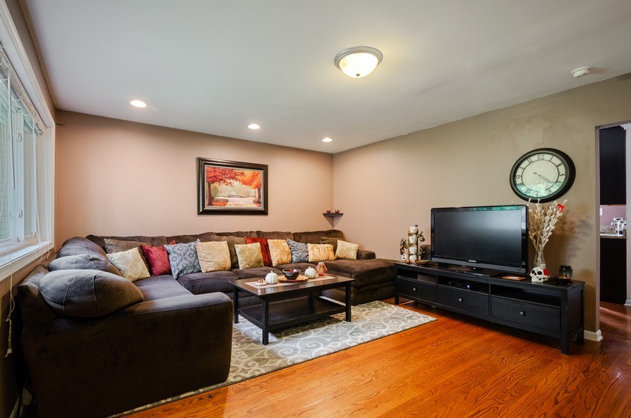 Real Estate Photography - 1217 Mulford, Evanston, IL, 60202 - Living Room