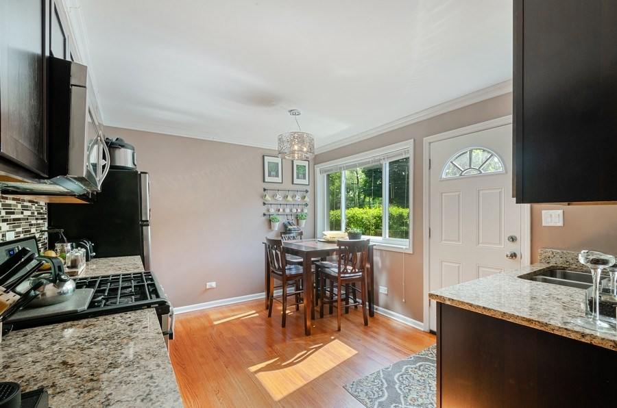 Real Estate Photography - 1217 Mulford, Evanston, IL, 60202 - Kitchen / Breakfast Room