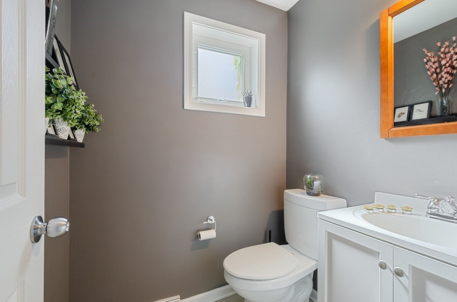 Real Estate Photography - 1217 Mulford, Evanston, IL, 60202 - Powder Room