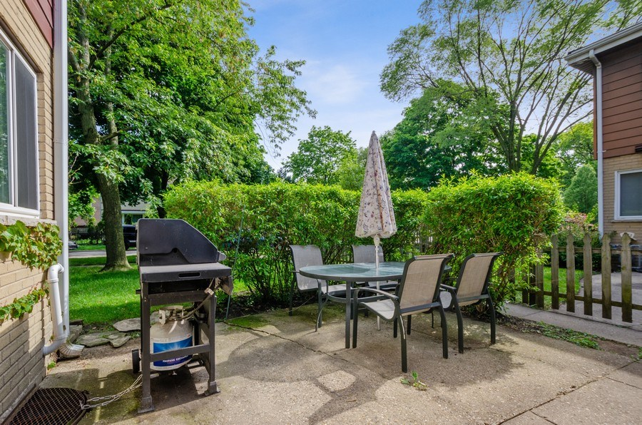 Real Estate Photography - 1217 Mulford, Evanston, IL, 60202 - Back Yard