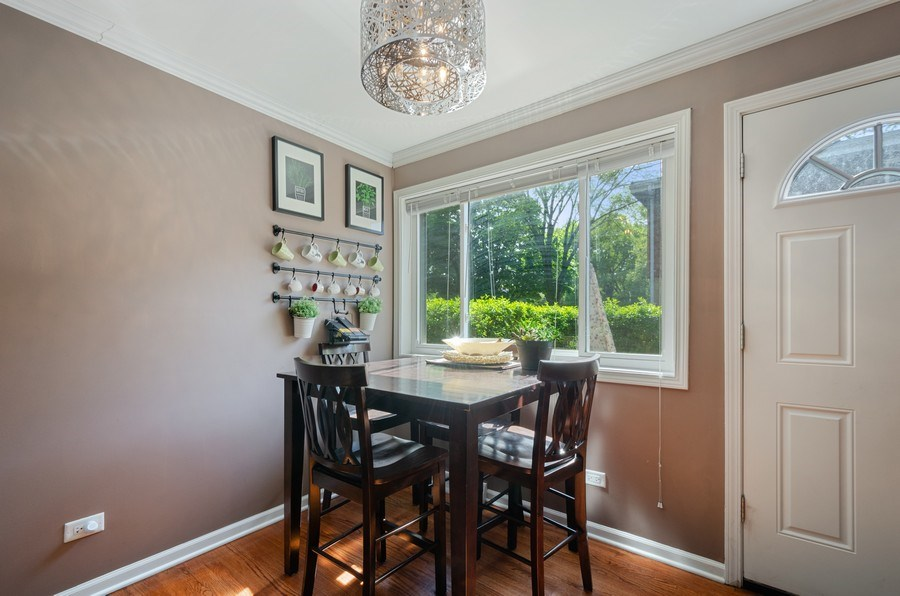 Real Estate Photography - 1217 Mulford, Evanston, IL, 60202 - Breakfast Area