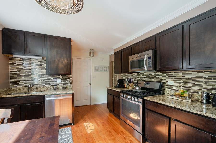 Real Estate Photography - 1217 Mulford, Evanston, IL, 60202 - Kitchen