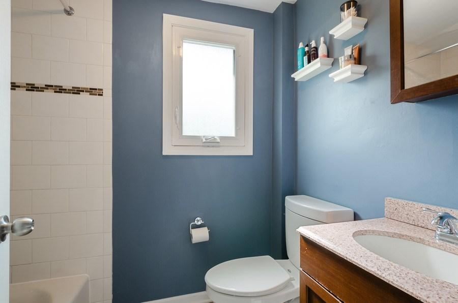 Real Estate Photography - 1217 Mulford, Evanston, IL, 60202 - Bathroom