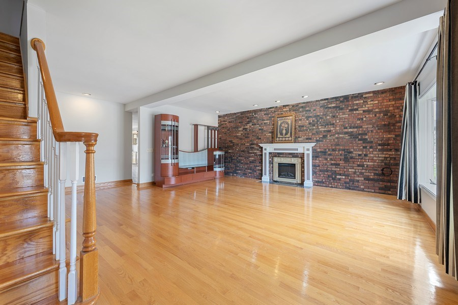 Real Estate Photography - 5898 N Elston Ave, Chicago, IL, 60646 - Living Room