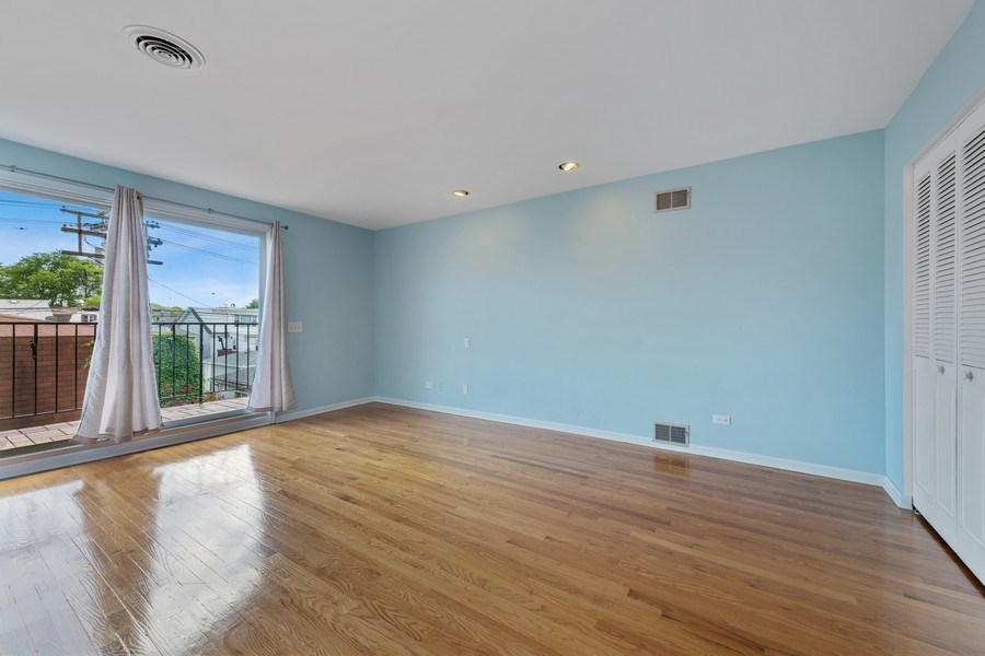 Real Estate Photography - 5898 N Elston Ave, Chicago, IL, 60646 - Master Bedroom