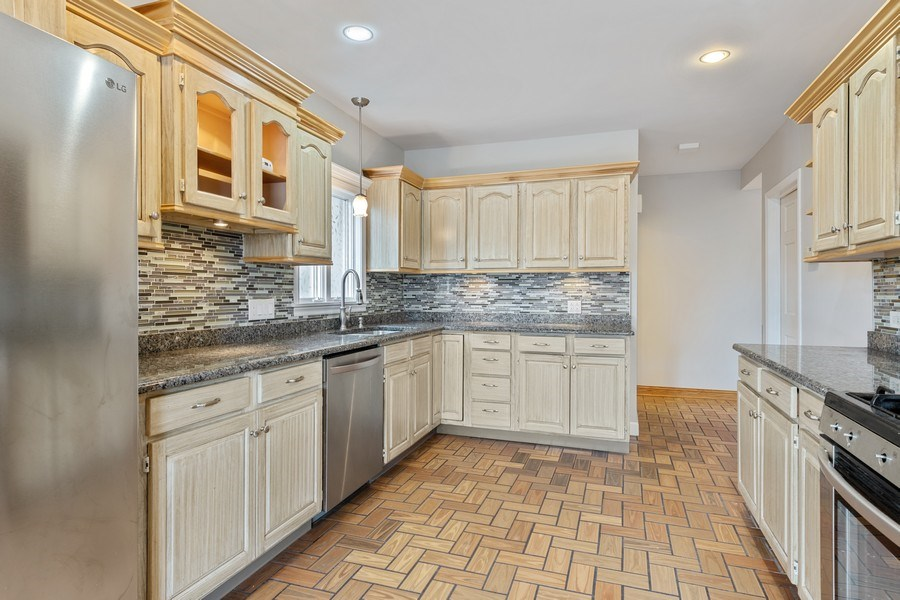 Real Estate Photography - 5898 N Elston Ave, Chicago, IL, 60646 - Kitchen