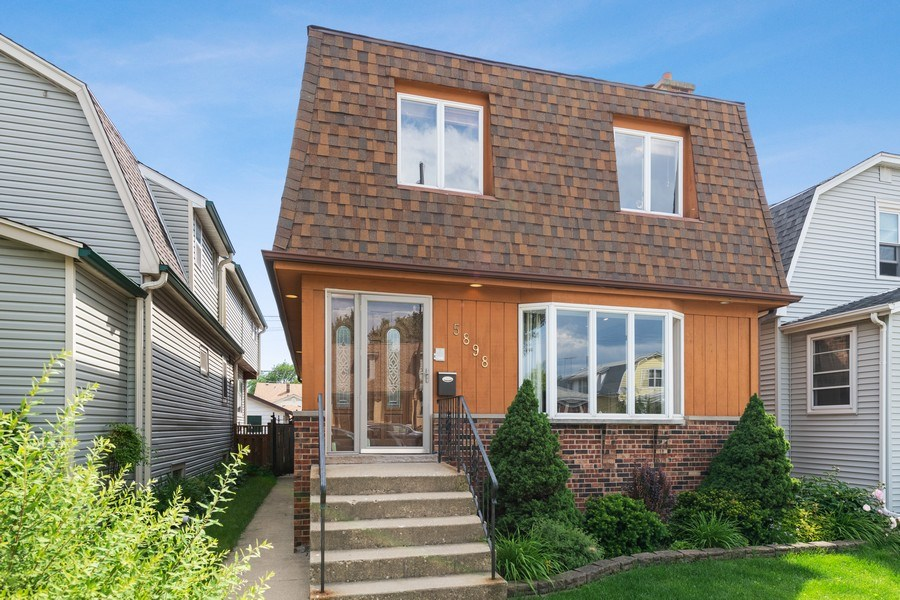 Real Estate Photography - 5898 N Elston Ave, Chicago, IL, 60646 - Front View