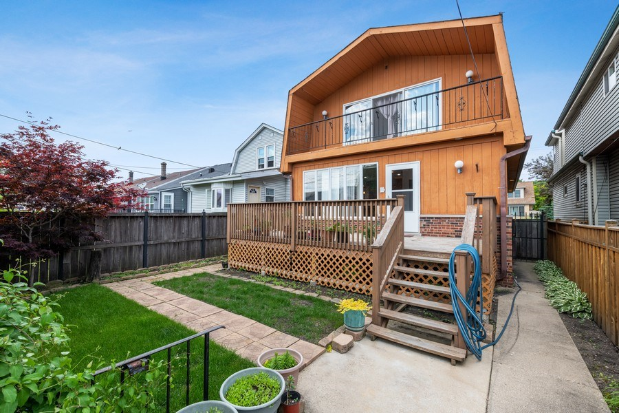 Real Estate Photography - 5898 N Elston Ave, Chicago, IL, 60646 - Rear View