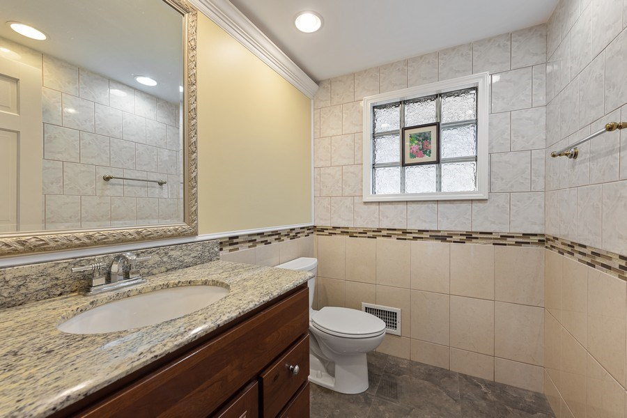 Real Estate Photography - 5898 N Elston Ave, Chicago, IL, 60646 - Half Bath
