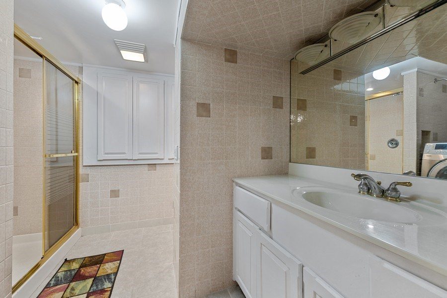 Real Estate Photography - 5898 N Elston Ave, Chicago, IL, 60646 - 2nd Bathroom