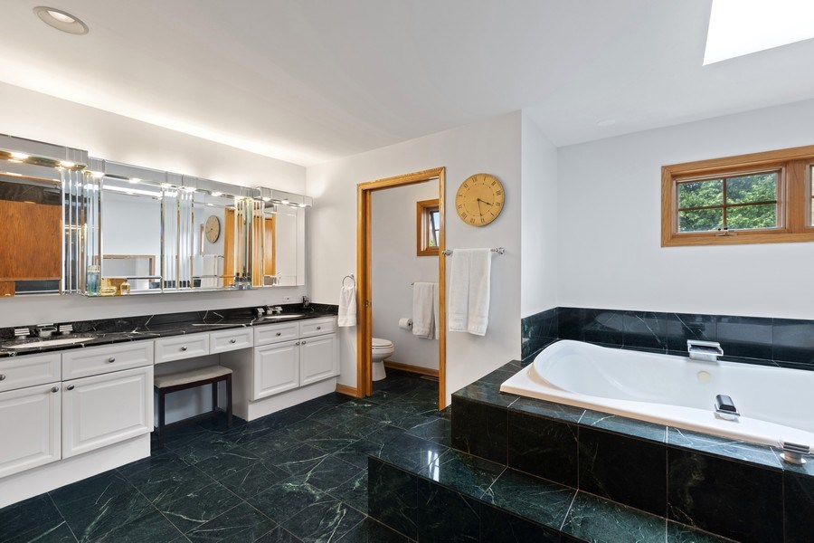 Real Estate Photography - 4545 W Berteau, Chicago, IL, 60641 - Master Bathroom