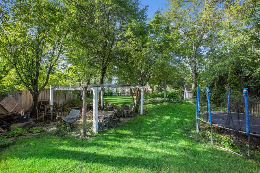 Real Estate Photography - 4545 W Berteau, Chicago, IL, 60641 - Back Yard