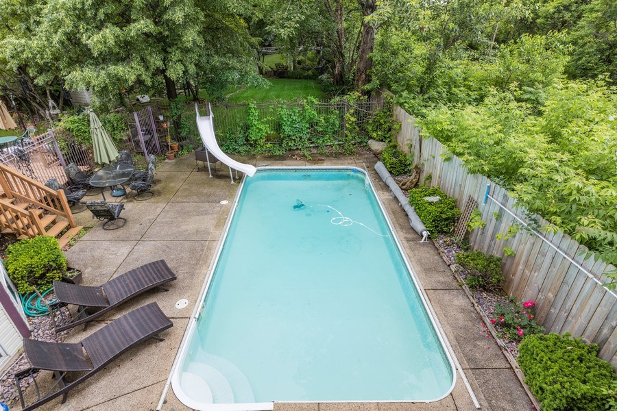 Real Estate Photography - 4545 W Berteau, Chicago, IL, 60641 - Pool