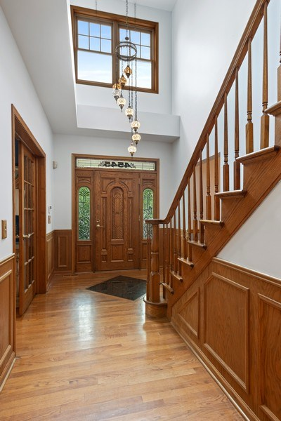 Real Estate Photography - 4545 W Berteau, Chicago, IL, 60641 - Foyer