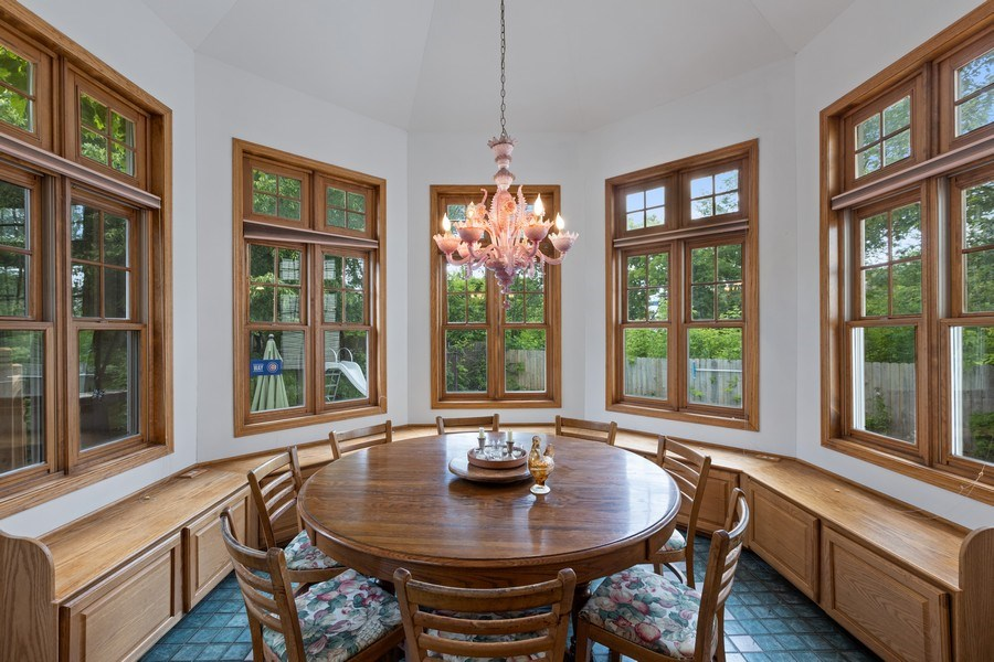 Real Estate Photography - 4545 W Berteau, Chicago, IL, 60641 - Dining Area