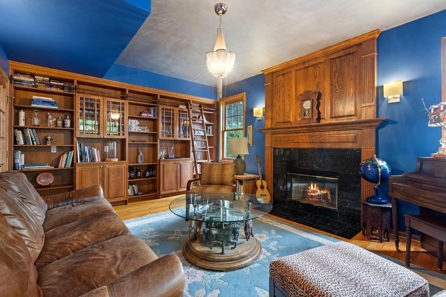 Real Estate Photography - 4545 W Berteau, Chicago, IL, 60641 - Den
