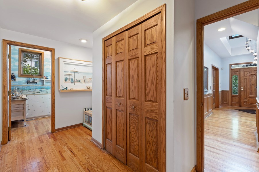 Real Estate Photography - 4545 W Berteau, Chicago, IL, 60641 - Hallway