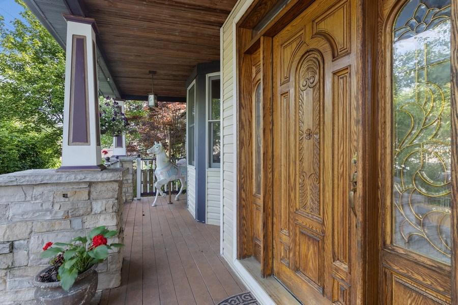 Real Estate Photography - 4545 W Berteau, Chicago, IL, 60641 - Porch