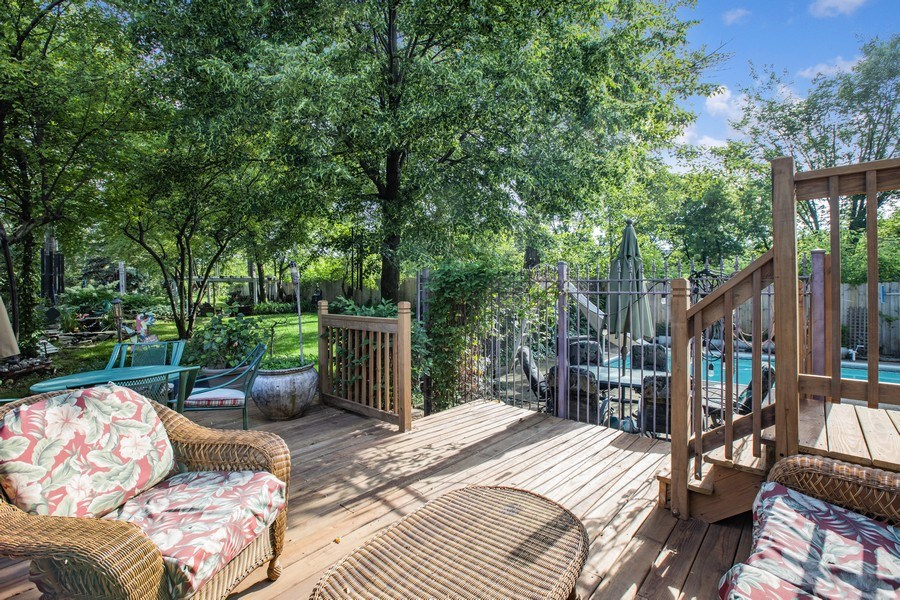 Real Estate Photography - 4545 W Berteau, Chicago, IL, 60641 - Deck