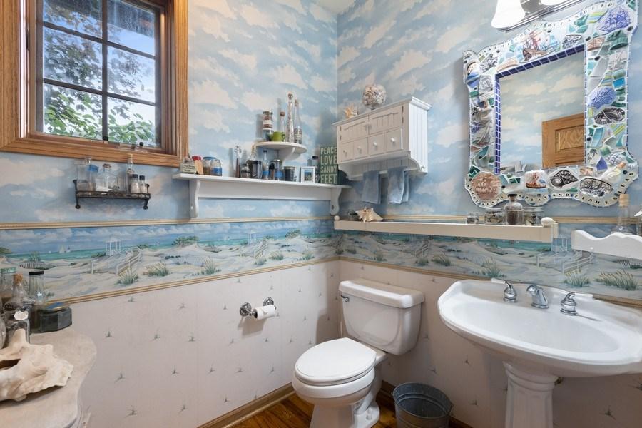 Real Estate Photography - 4545 W Berteau, Chicago, IL, 60641 - Half Bath
