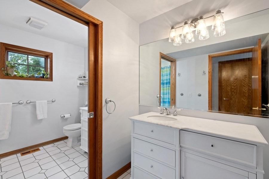 Real Estate Photography - 4545 W Berteau, Chicago, IL, 60641 - Bathroom