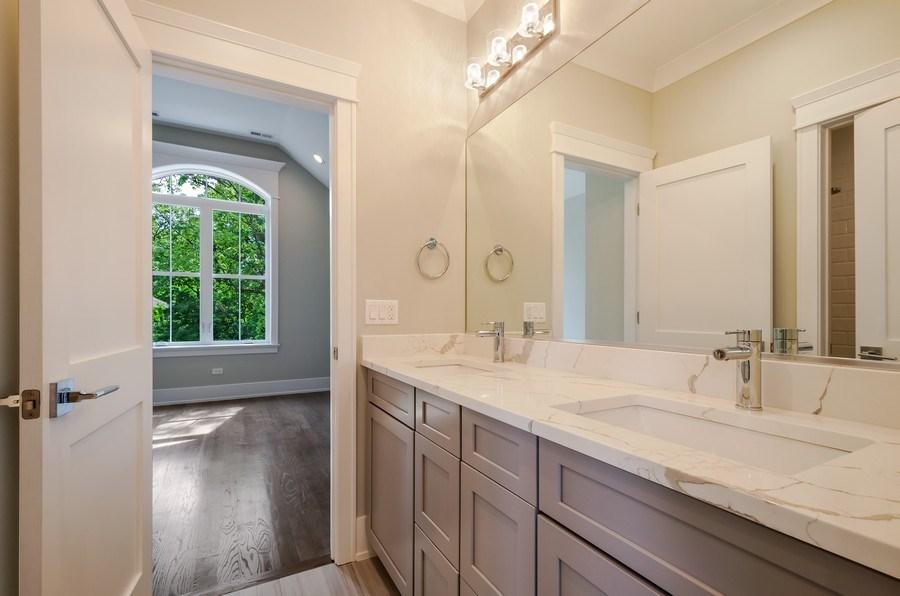 Real Estate Photography - 5822 N Kenneth, Chicago, IL, 60646 - 3rd Bathroom