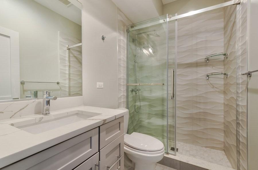 Real Estate Photography - 5822 N Kenneth, Chicago, IL, 60646 - 4th Bathroom