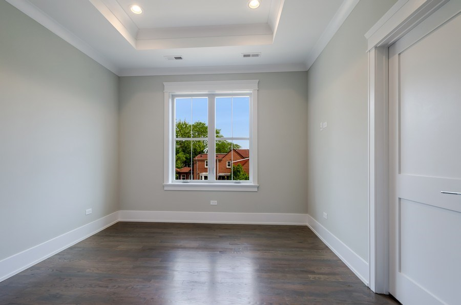 Real Estate Photography - 5822 N Kenneth, Chicago, IL, 60646 - 4th Bedroom