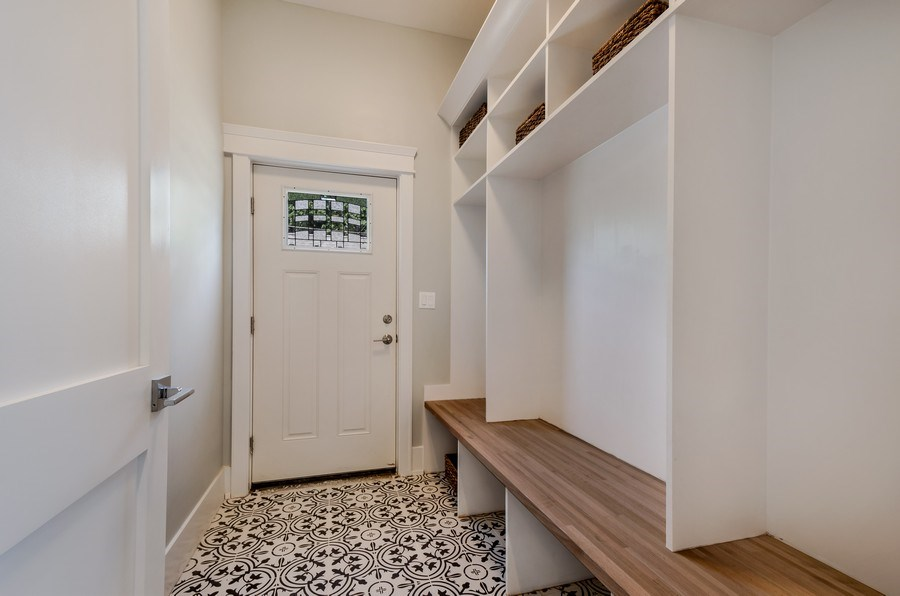 Real Estate Photography - 5822 N Kenneth, Chicago, IL, 60646 - Mudroom