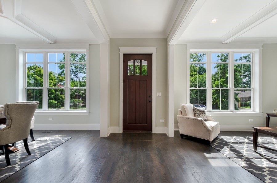 Real Estate Photography - 5822 N Kenneth, Chicago, IL, 60646 - Entrance