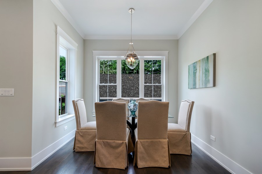 Real Estate Photography - 5822 N Kenneth, Chicago, IL, 60646 - Breakfast Area