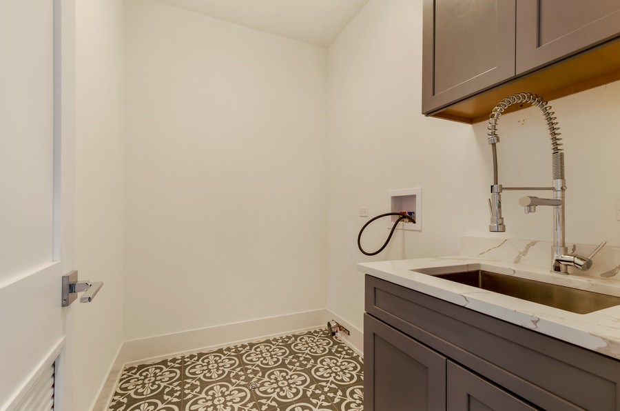Real Estate Photography - 5822 N Kenneth, Chicago, IL, 60646 - Laundry Room