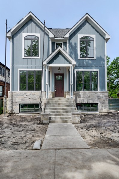 Real Estate Photography - 5822 N Kenneth, Chicago, IL, 60646 - Front View