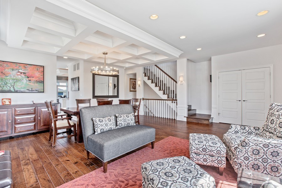 Real Estate Photography - 7259 N Oriole Ave, Chicago, IL, 60631 - Living Room
