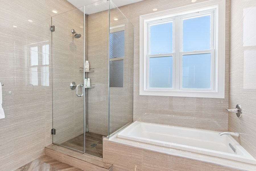 Real Estate Photography - 7259 N Oriole Ave, Chicago, IL, 60631 - Master Bathroom