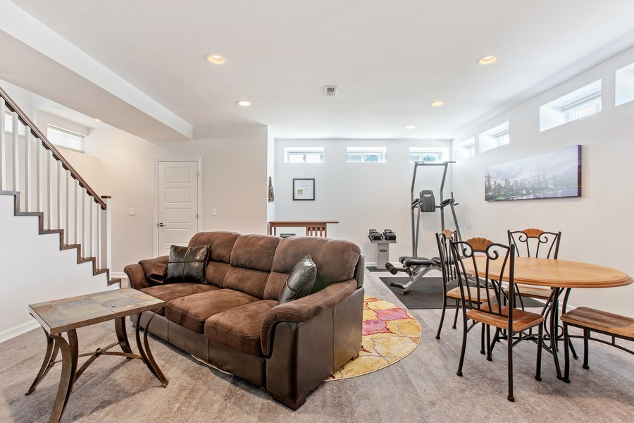 Real Estate Photography - 7259 N Oriole Ave, Chicago, IL, 60631 - Lower Level